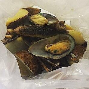 Garlic butter mussels  - 's Crab Factory : Original Louisiana Boil (Petaling Jaya (North)) Klang Valley