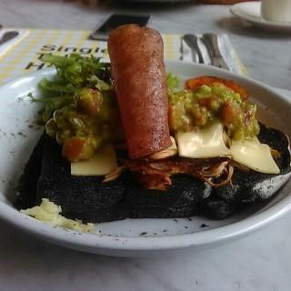 chicken avocado sandwich - Surapati's Baker Street (Surapati) Bandung