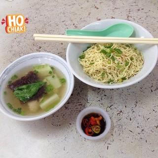 Fish ball soup mee - Kuching's Min Joo Kee Cafe (Kuching)|Sarawak