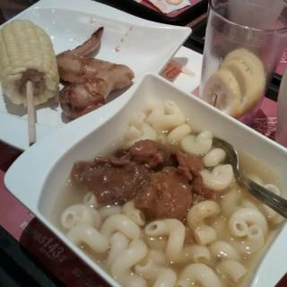 沙爹牛肉通粉下午茶餐 - 位於將軍澳的大家樂 (將軍澳) | 香港