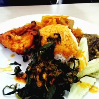 Nasi Padang Ayam Bakar -  dari Sederhana Bintaro (Pantai Indah Kapuk) di Pantai Indah Kapuk |Jakarta