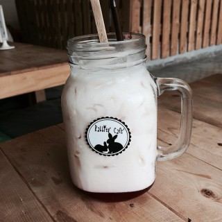 Pink milk - Bang Na's Rabbito' Cafe' (สุขุมวิท101) (Bang Na)|Bangkok