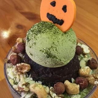 green tea bingsoo - Kuningan's Caffe Bene (Kuningan)|Jakarta
