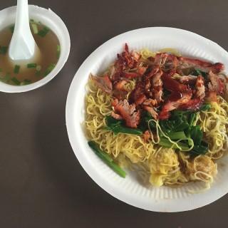 Wanton Noodles -   / 華記雲吞麵 (East Coast Park)|Singapore
