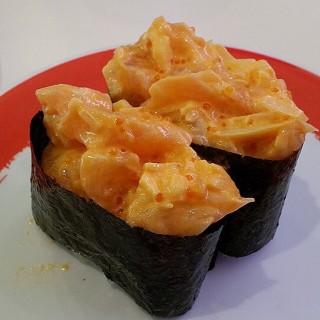 Spicy Salmon - Fort Bonifacio 's Genki Sushi (Fort Bonifacio )|Metro Manila