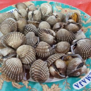 kerang dara rebus -  dari Indah Seafood 94 Kalimati (Pademangan) di Pademangan |Jakarta