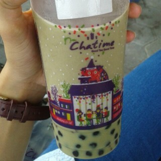 matcha redbean smoothie plus pearl -  Jawa / Chatime (Jawa)|Other Cities