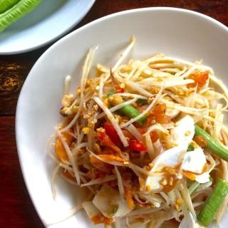 ส้มตำไข่เค็ม - 位于รองเมือง的Lap Pak (รองเมือง) | 曼谷
