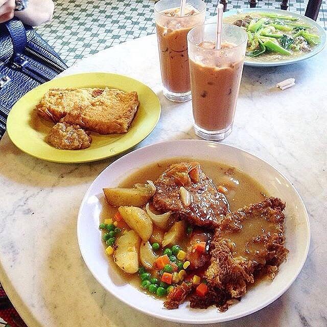Hainanese Pork Chop - 鎰記中西菜館 - Steaks / Chops - 金馬 - Klang Valley