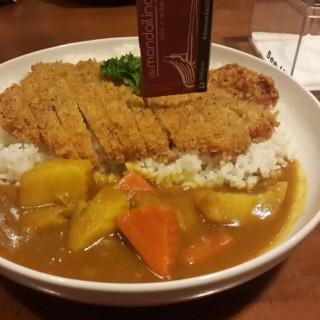 nasi curry chicken katsu -  dari De Mandailing Cafe (Sukolilo) di Sukolilo |Surabaya