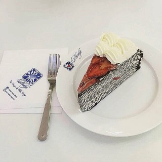 Strawberry Chocolate Mille Crepe - Petaling Jaya (North)'s Nadeje (Petaling Jaya (North))|Klang Valley