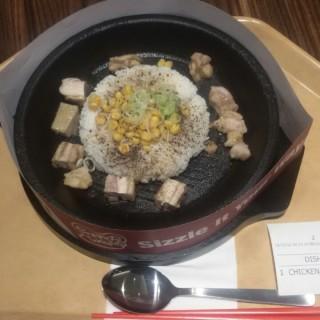 Chicken Pepper Rice - ใน จากร้านPepper Lunch (Thamrin)|Jakarta