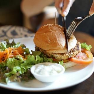 Vegetarian Burger -  Seminyak / Biku (Seminyak)|Bali