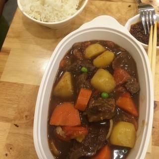 Beef Casserole w Rice -  Little India Tekka Serangoon Road / 來來紅燒牛肉面 (Little India Tekka Serangoon Road)|Singapore