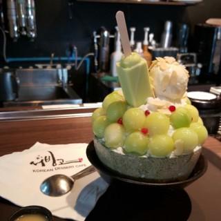 Melon bingsu - 位于ปทุมวัน的Seobinggo (ซอบิงโก) (ปทุมวัน) | 曼谷
