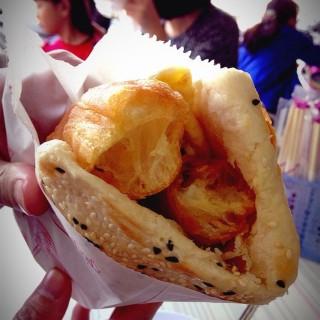 燒餅油條加蛋半套 - 位於北區的杏仁世家 (北區) | 台南