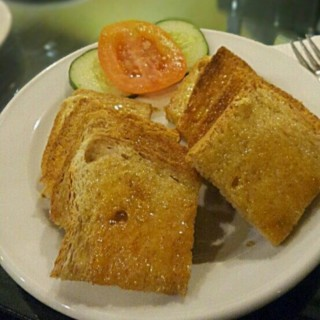 honey butter brown toast - Simpang Lima's The Blue Lotus Coffee House (Simpang Lima)|Semarang