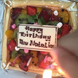 Birthday Cake Chesse -  dari Cheese Cake Factory (Tomang) di Tomang |Jakarta