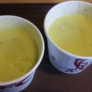 cream soup - Kopo Permai's Kentucky Fried Chicken (KFC) (Kopo Permai)|Bandung