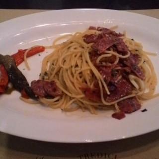 Spaghetti Aglio Olio Beef - Senopati's Tredici Ristorante (Senopati)|Jakarta