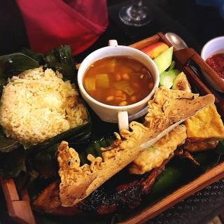 Nasi ala sampireun - Jawa's Seruling Bambu (Jawa) Other Cities