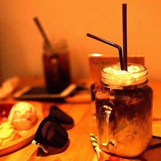 Ice chocolate banana  - Amphoe Pak Kret's Little Zoo Cafe (แจ้งวัฒนะ) (Amphoe Pak Kret)|Bangkok