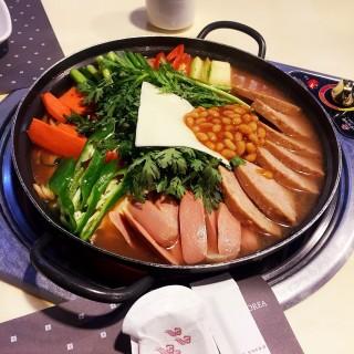 部隊鍋 - Tsim Sha Tsui's Myung Dong Ok Korean Cuisine & BBQ (Tsim Sha Tsui)|Hong Kong