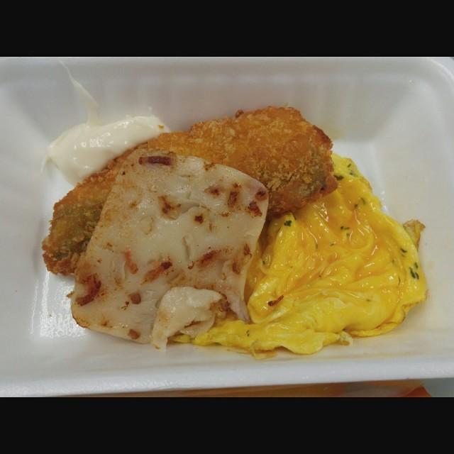 南冰魚柳拼炒蛋配蘿蔔糕 - 大家樂 - 港式 - 粉嶺 - 香港