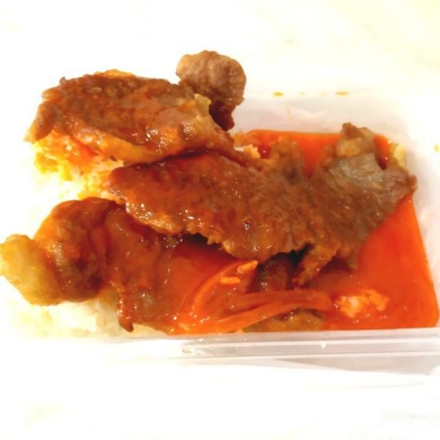 洋蔥牛扒飯(外賣) - 大快樂餐廳 - 港式 - 香港仔 - 香港