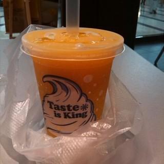芒果爆爆珠沙冰 - tianhecheng's burger king (tianhecheng)|Guangzhou