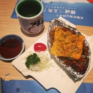 芝士焗蘑菇 - nongjiangsuo's 板长寿司 (nongjiangsuo)|Guangzhou
