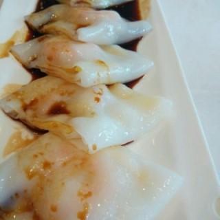 鲜虾肠粉 - ใน江汉路 จากร้าน表叔港式茶餐厅 (江汉路)|Wu Han