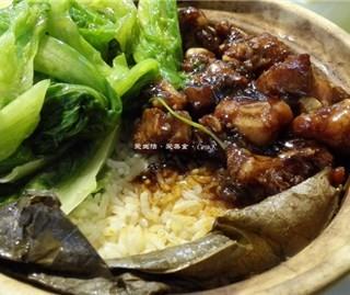 荷叶排骨饭 - jiangnanxi's 汤水老锅 (jiangnanxi)|Guangzhou