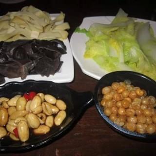 配菜 - guangzhoudongzhan's 酷渔飞碟烤鱼 (guangzhoudongzhan)|Guangzhou