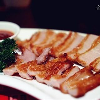 碳烤猪颈肉 - 位於火車北站的阿玉莲西贡餐吧 (火車北站) | 成都
