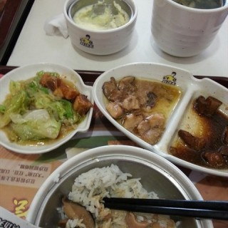 排骨鸡肉双拼饼 - luoxi's 真功夫 (luoxi)|Guangzhou