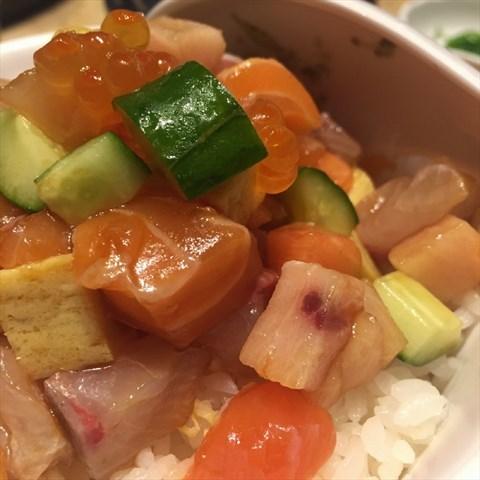 刺身饭 - Zhujiangxincheng's 富田菊日本皇尚料理|Japanese Cafe - Guangzhou