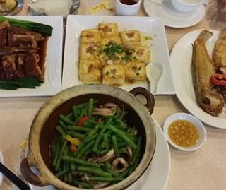 香煎马鲛鱼让豆腐禄鹅虾酱豆角鱿鱼 - kecun's 凯潮农家宴 (kecun)|Guangzhou