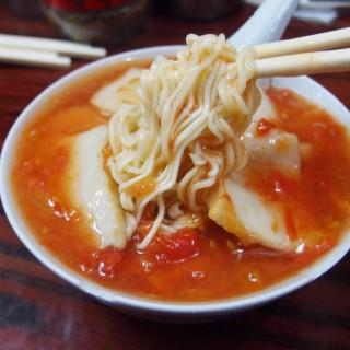 蕃茄魚片麵 - 位於尖沙咀的星座冰室 (尖沙咀) | 香港