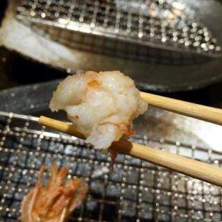 車海老天婦羅(蝦身) - 位於上環的天秀 (上環) | 香港