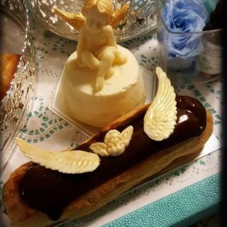 小天使芝士蛋糕、朱古力閃電泡芙 - 位於上環的DK Cuppa Tea (上環) | 香港