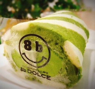 抹茶紐紋卷蛋糕 - 位於銅鑼灣的8b Dolce (銅鑼灣) | 香港