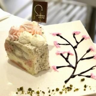 櫻花藍妹天使蛋糕 - 位於中環的Sogno Cafe+ (中環) | 香港