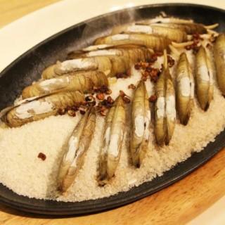 鐵板鹽焗蟶子 - ใน尖沙咀 จากร้านPUTIEN (尖沙咀)|ฮ่องกง