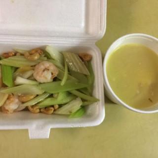 西芹腰果炒蝦球 - 位於旺角的港星餐廳 (旺角)   香港