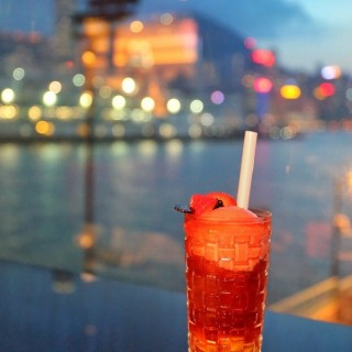 Iced Peach & Passion Fruit Tea - 位於尖沙咀的Le Café de Joël Robuchon (尖沙咀) | 香港