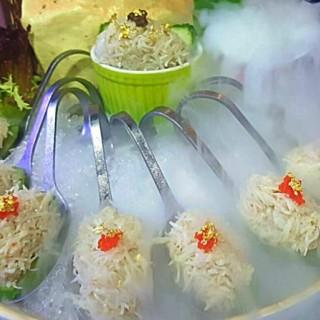 法式水晶蟹膏撈蟹肉凍食🇫🇷💎🦀  - 位於尖沙咀的粵廷軒海鮮火鍋酒家 (尖沙咀)   香港