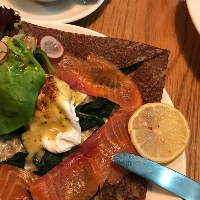 Salmon  Brunch  Galette - Odelice! - French - Wan Chai - ฮ่องกง