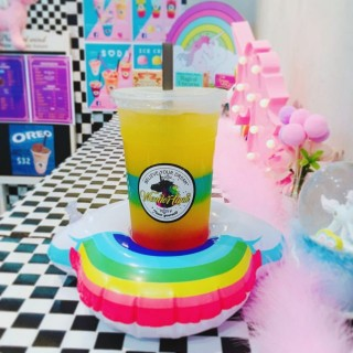 Rainbow  Jelly  Drink - 位於西貢的Wonderland (西貢) | 香港
