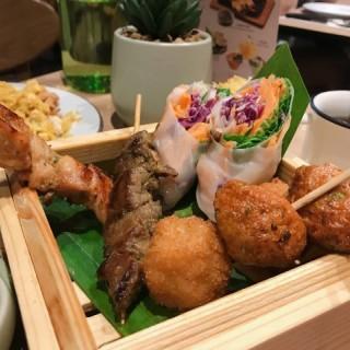小食拼盤 - 位於太古的Mango Tree Café (太古) | 香港